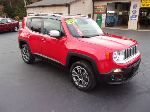 2017 Jeep Renegade for sale at Dave Thornton North East Motors in North East PA