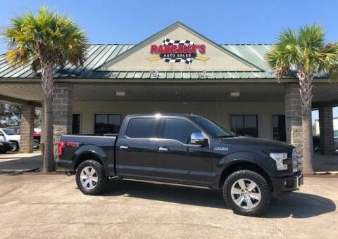 2015 Ford F-150 for sale at Rabeaux's Auto Sales in Lafayette LA