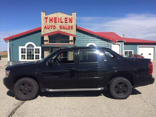 2012 Chevrolet Avalanche for sale at THEILEN AUTO SALES in Clear Lake IA