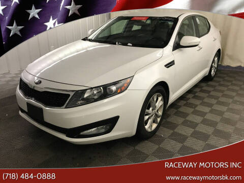 2013 Kia Optima for sale at Raceway Motors Inc in Brooklyn NY