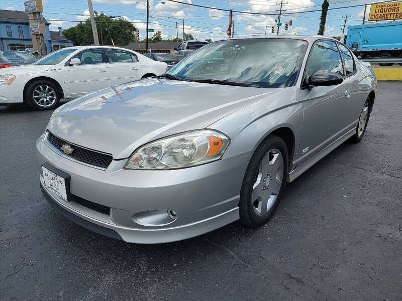2006 Chevrolet Monte Carlo for sale at Rucker's Auto Sales Inc. in Nashville TN