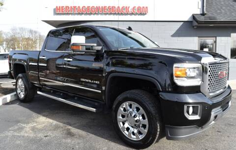 2016 GMC Sierra 2500HD for sale at Heritage Automotive Sales in Columbus in Columbus IN