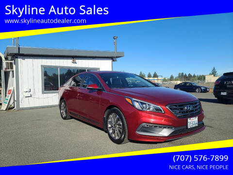 2015 Hyundai Sonata for sale at Skyline Auto Sales in Santa Rosa CA