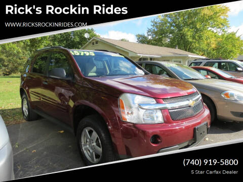2008 Chevrolet Equinox for sale at Rick's Rockin Rides in Reynoldsburg OH