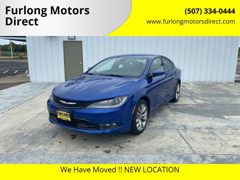 2016 Chrysler 200 for sale at Furlong Motors Direct in Faribault MN