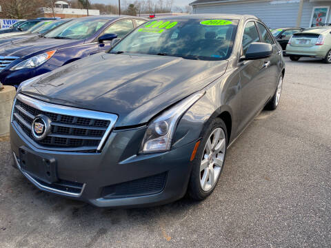 2013 Cadillac ATS for sale at Capital Auto Sales in Providence RI