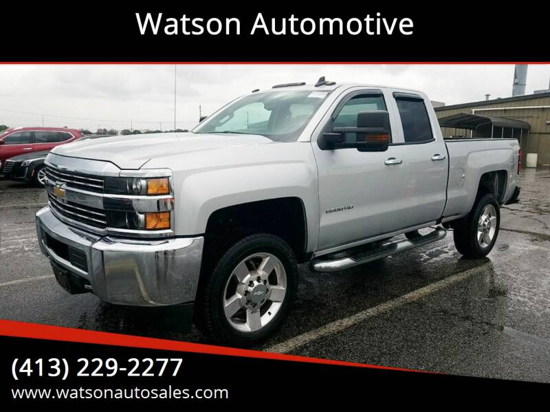 2017 Chevrolet Silverado 2500HD for sale at Watson Automotive in Sheffield MA