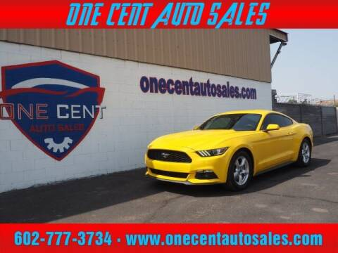 2015 Ford Mustang for sale at One Cent Auto Sales in Glendale AZ