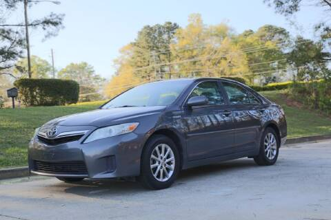 2011 Toyota Camry Hybrid for sale at Alpha Auto Solutions in Acworth GA