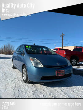 2005 Toyota Prius for sale at Quality Auto City Inc. in Laramie WY