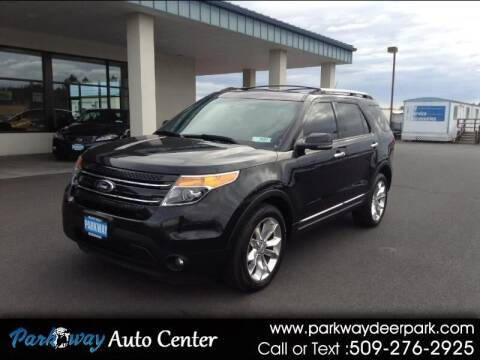 2013 Ford Explorer for sale at PARKWAY AUTO CENTER AND RV in Deer Park WA
