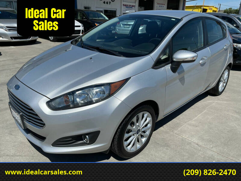 2014 Ford Fiesta for sale at Ideal Car Sales in Los Banos CA