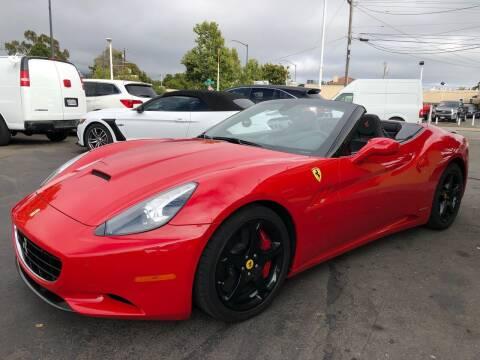 2012 Ferrari California for sale at EKE Motorsports Inc. in El Cerrito CA