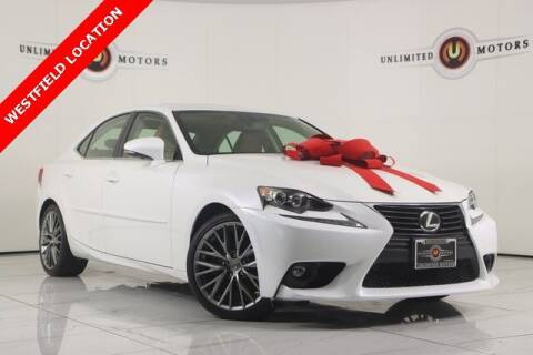 2015 Lexus IS 250 for sale at INDY'S UNLIMITED MOTORS - UNLIMITED MOTORS in Westfield IN