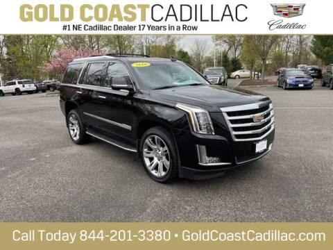 2016 Cadillac Escalade for sale at Gold Coast Cadillac in Oakhurst NJ