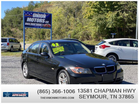 2008 BMW 3 Series for sale at Union Motors in Seymour TN