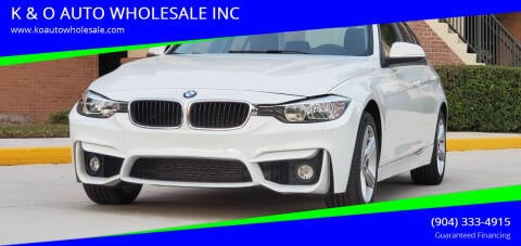 2013 BMW 3 Series for sale at K & O AUTO WHOLESALE INC in Jacksonville FL