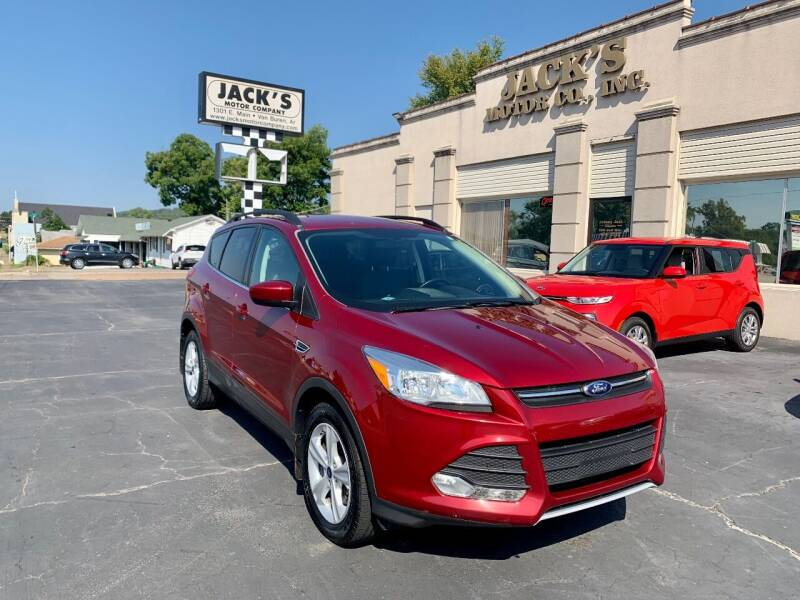 2014 Ford Escape for sale at JACK'S MOTOR COMPANY in Van Buren AR