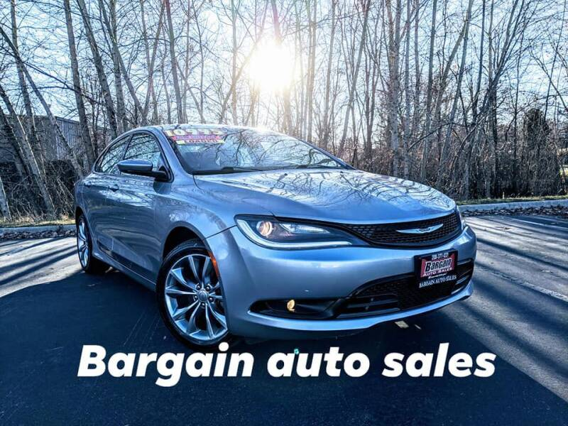 2015 Chrysler 200 for sale at Bargain Auto Sales LLC in Garden City ID