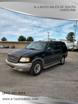 2001 Ford Expedition for sale at A-1 Auto Sales Of South Carolina in Conway SC