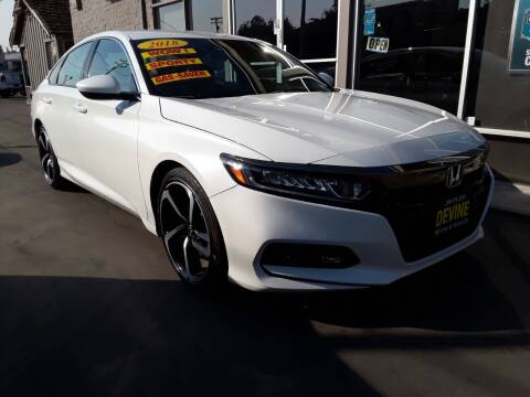 2018 Honda Accord for sale at Devine Auto Sales in Modesto CA
