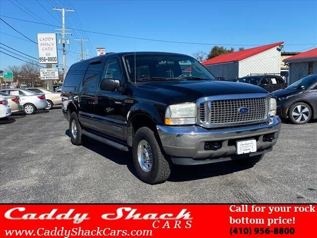 2004 Ford Excursion for sale at CADDY SHACK CARS in Edgewater MD