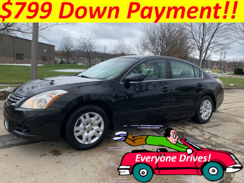 2012 Nissan Altima for sale at World Automotive in Euclid OH