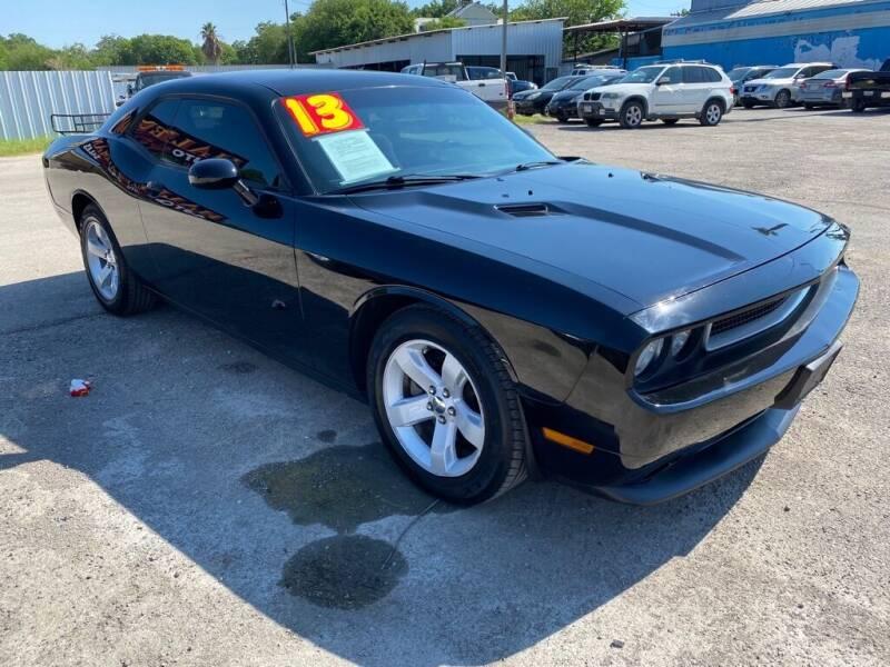 2013 Dodge Challenger for sale at HALEMAN AUTO SALES in San Antonio TX