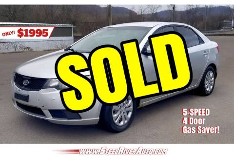 2010 Kia Forte for sale at Steel River Auto in Bridgeport OH