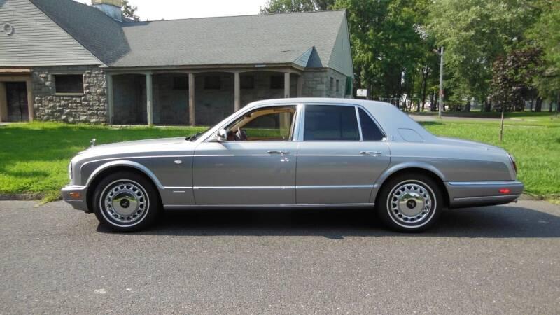 2001 Rolls-Royce Silver Seraph for sale at PALMA CLASSIC CARS, LLC. in Audubon NJ