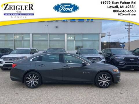 2017 Chevrolet Malibu for sale at Zeigler Ford of Plainwell- Jeff Bishop in Plainwell MI