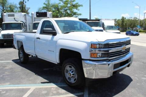 2016 Chevrolet Silverado 2500HD for sale at Truck and Van Outlet in Miami FL