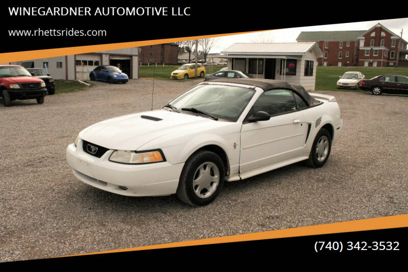 2000 Ford Mustang for sale at WINEGARDNER AUTOMOTIVE LLC in New Lexington OH