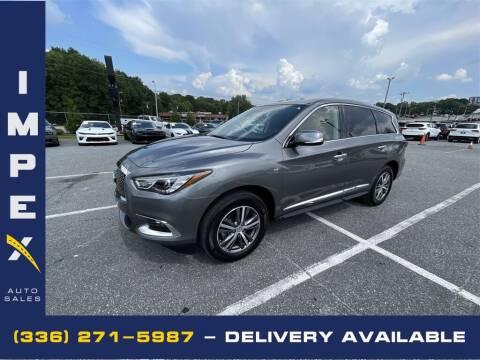 2020 Infiniti QX60 for sale at Impex Auto Sales in Greensboro NC