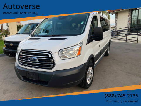 2015 Ford Transit Passenger for sale at Autoverse in La Habra CA