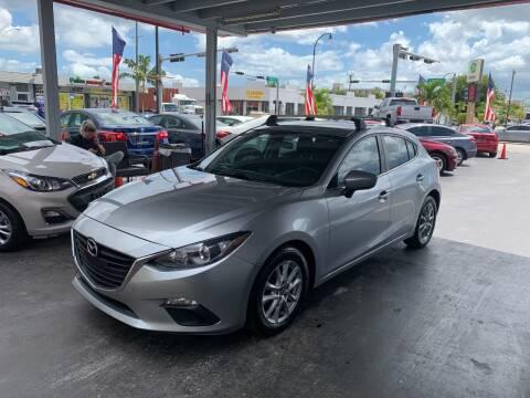 2014 Mazda MAZDA3 for sale at American Auto Sales in Hialeah FL