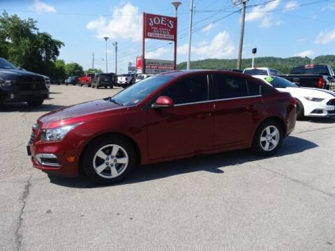 2015 Chevrolet Cruze for sale at Joe's Preowned Autos in Moundsville WV