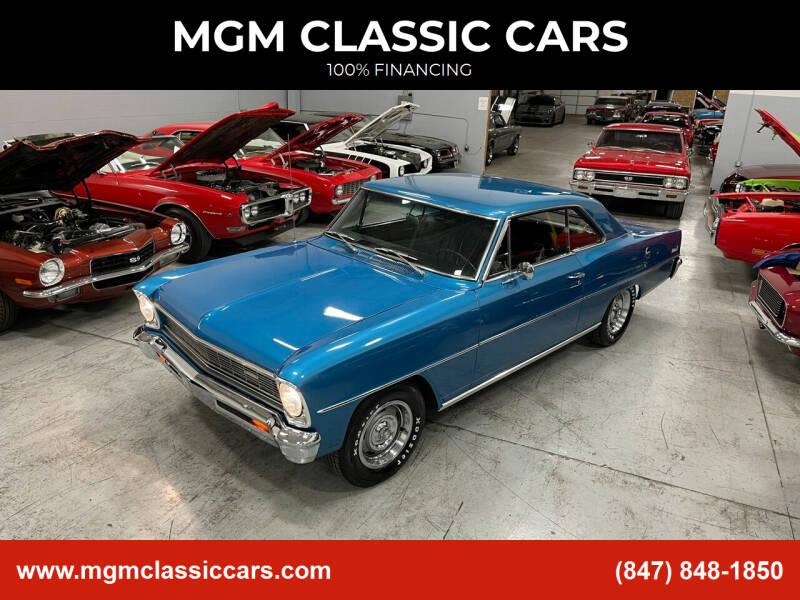 1966 Chevrolet Nova for sale at MGM CLASSIC CARS in Addison, IL