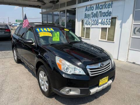 2010 Subaru Outback for sale at Auto Market in Billings MT