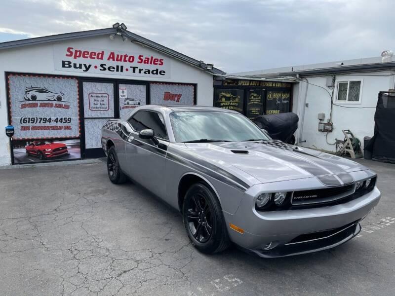 2014 Dodge Challenger for sale at Speed Auto Sales in El Cajon CA