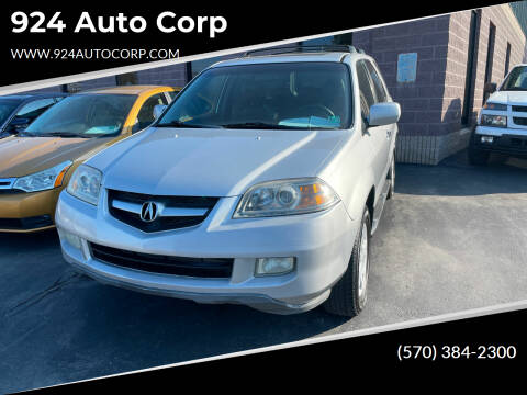 2004 Acura MDX for sale at 924 Auto Corp in Sheppton PA