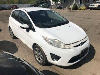 2012 Ford Fiesta for sale at WELLER BUDGET LOT in Grand Rapids MI