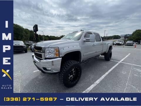 2011 Chevrolet Silverado 2500HD for sale at Impex Auto Sales in Greensboro NC