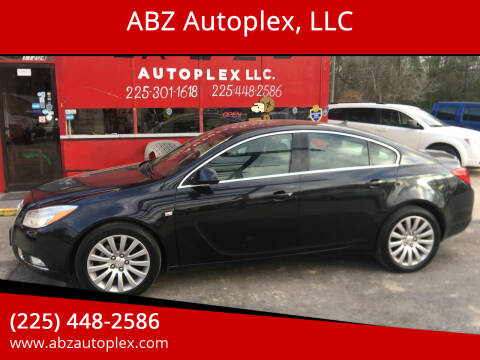 2011 Buick Regal for sale at ABZ Autoplex, LLC in Baton Rouge LA