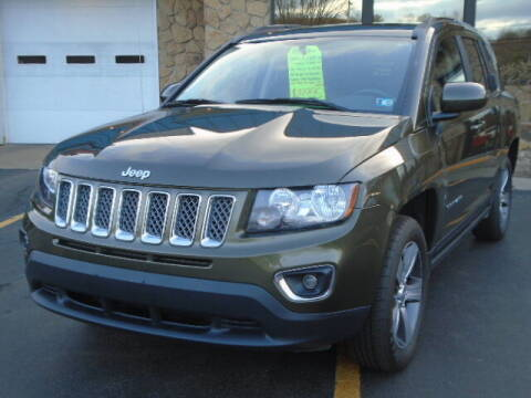 2016 Jeep Compass for sale at Rogos Auto Sales in Brockway PA