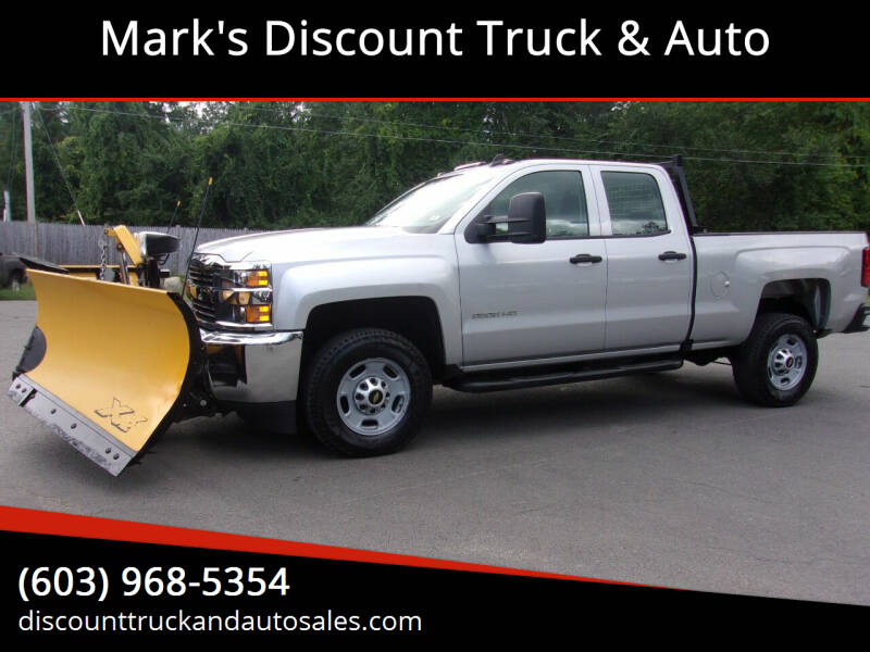 2016 Chevrolet Silverado 2500HD for sale at Mark's Discount Truck & Auto in Londonderry NH