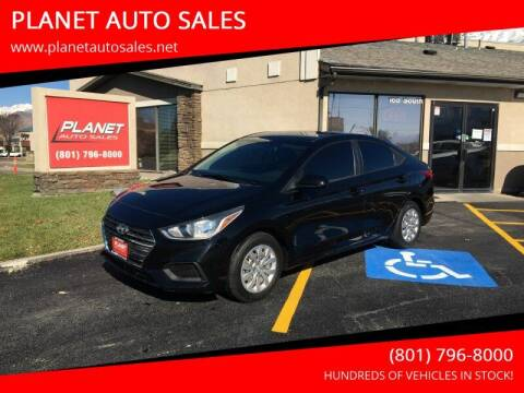 2018 Hyundai Accent for sale at PLANET AUTO SALES in Lindon UT