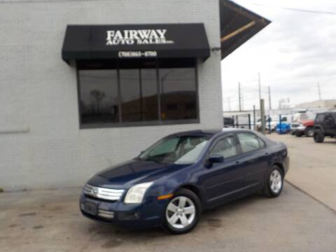 2006 Ford Fusion for sale at FAIRWAY AUTO SALES, INC. in Melrose Park IL