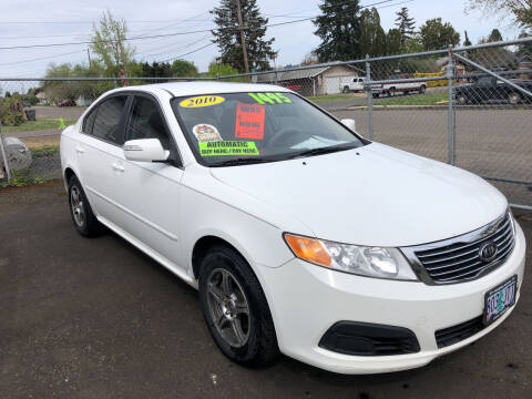 2010 Kia Optima for sale at Freeborn Motors in Lafayette, OR