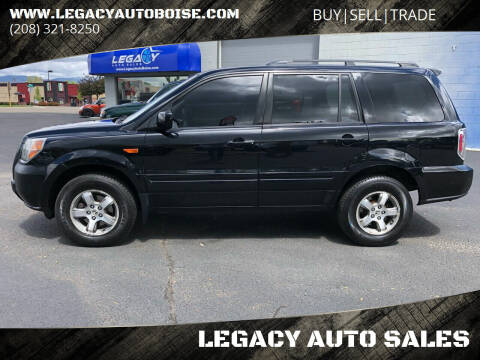 2006 Honda Pilot for sale at LEGACY AUTO SALES in Boise ID